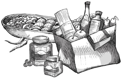 cucina da asporto