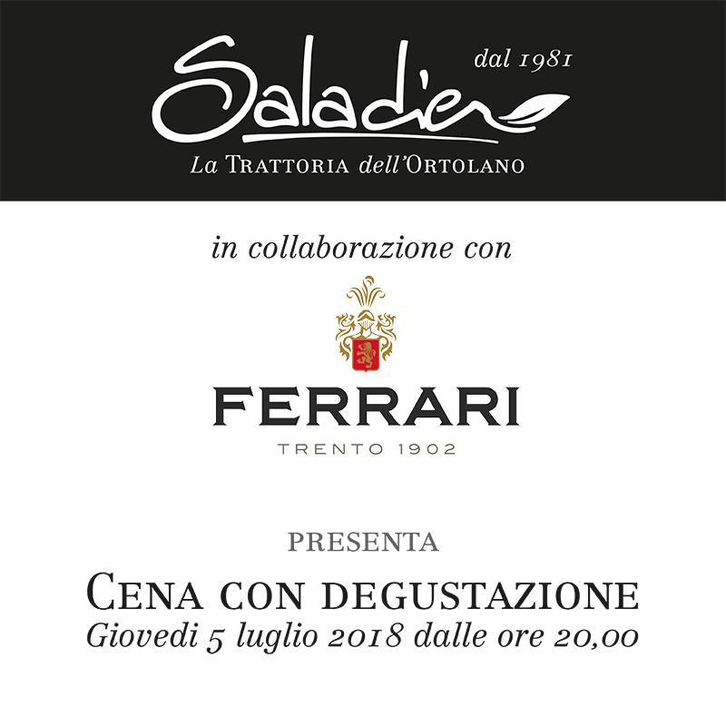 Cena con degustazione Ferrari