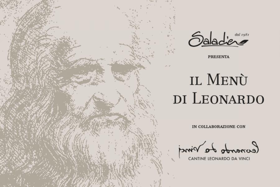 Speciale Menù di Leonardo da Vinci da Saladier
