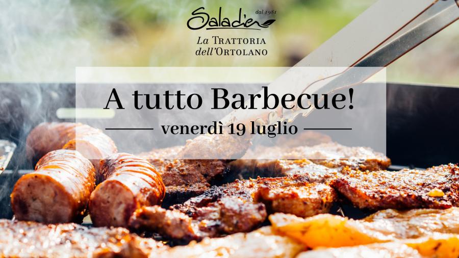A tutto barbecue da Saladier Vinci. Atto III.