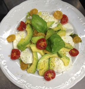 Carpaccio avocado